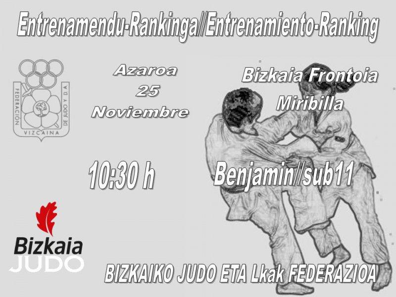 Entreno-Ranking Benjamin