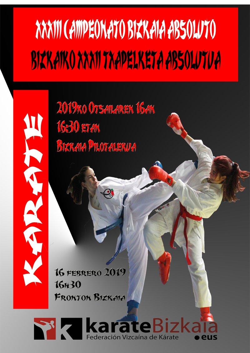 XXXIII Campeonato Bizkaia Absoluto 2019