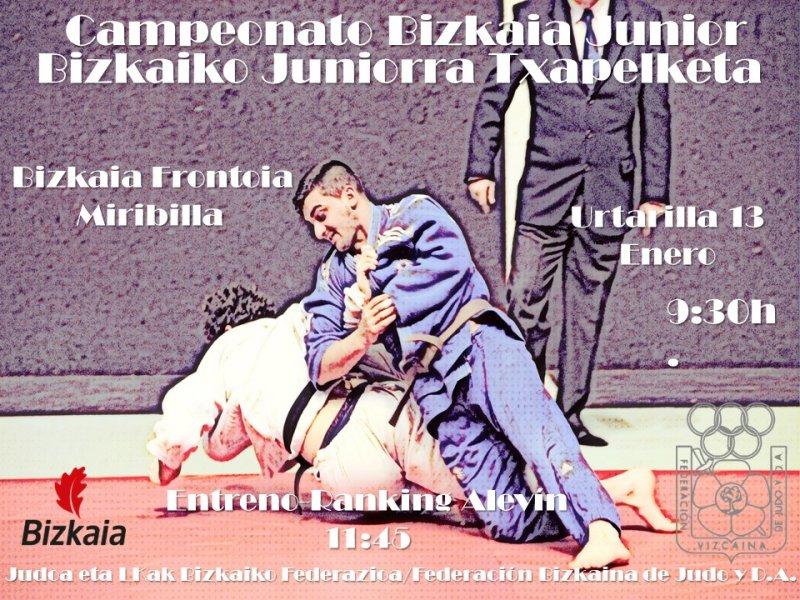 Campeonato Bizkaia Junior Femenino y Masculino
