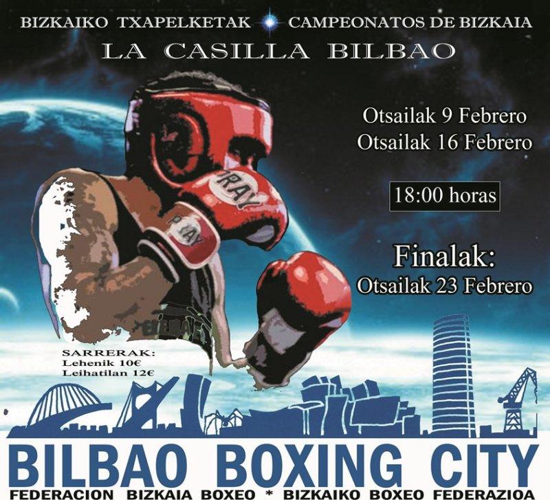 Bizkaiko Boxeo Txapelketak 2019 - Final laurdenak