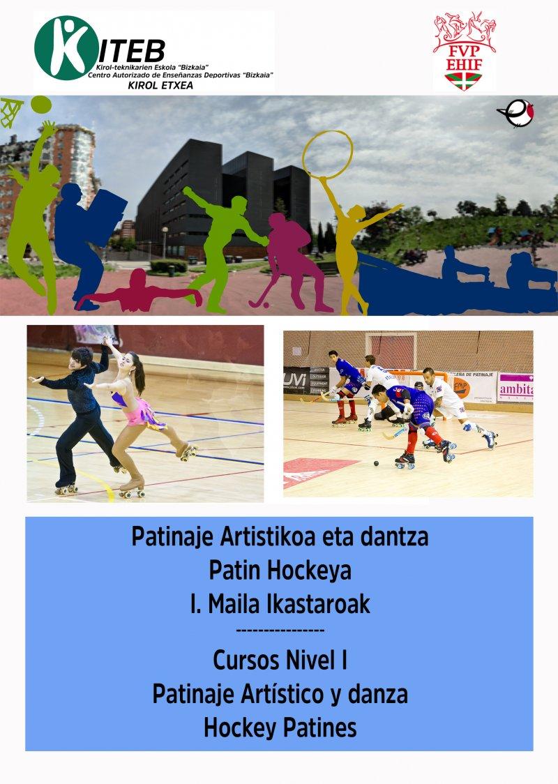 Convocatoria cursos oficiales de entrenador/a de Patinaje Artístico-Danza y Hockey Patines de Nivel I