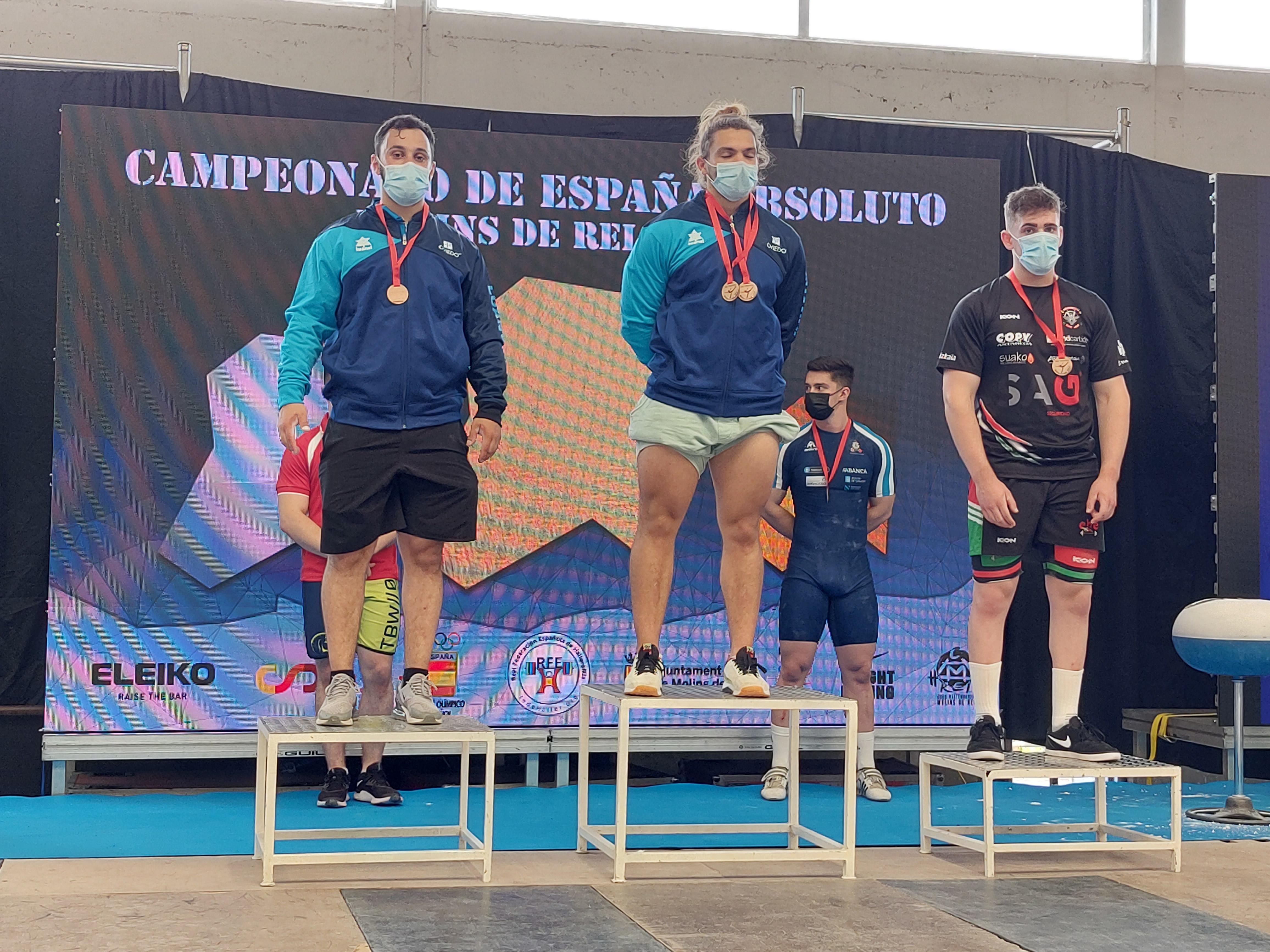 Bruno Soto nuevo récord de España