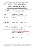Entrenamiento cadete/infantil y Ranking sub15 Femenino y masculino